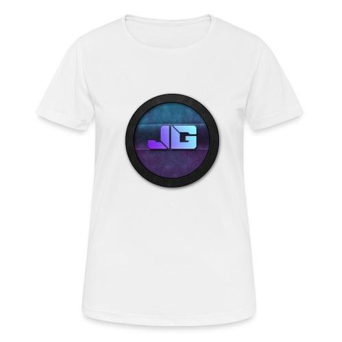 Pet met Logo - vrouwen T-shirt ademend