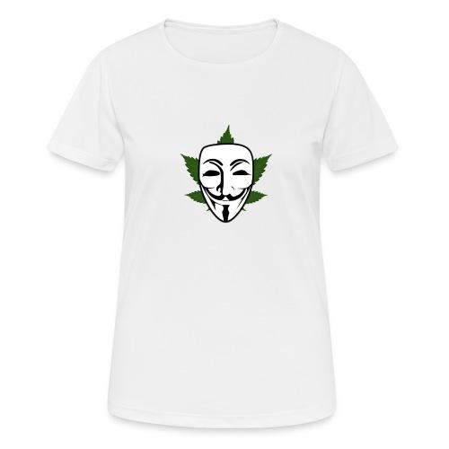 Anonymous - Vrouwen T-shirt ademend actief