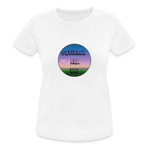 Squirrel And Uni T-Shirt - vrouwen T-shirt ademend
