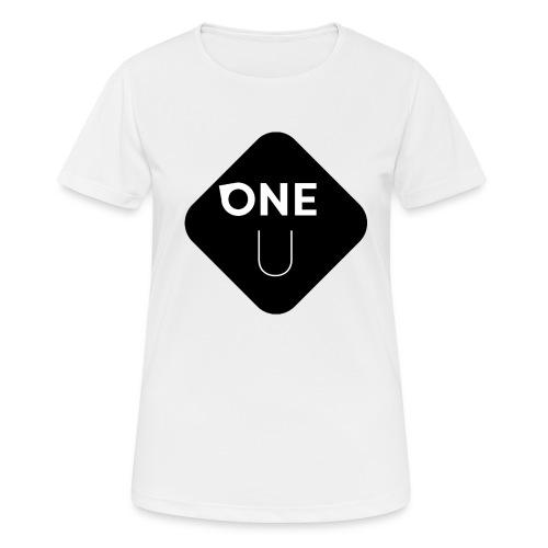One U - Bottom - Andningsaktiv T-shirt dam