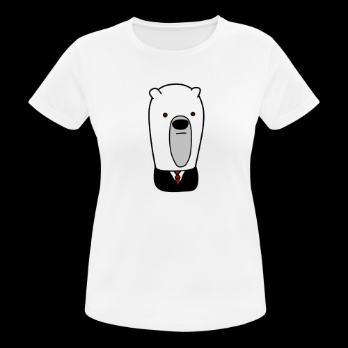 officel_polarbear_shop_logo - Dame T-shirt svedtransporterende