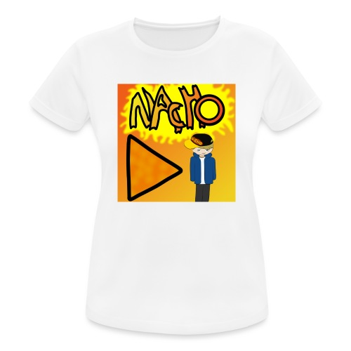Nacho Title with Little guy - Women's Breathable T-Shirt
