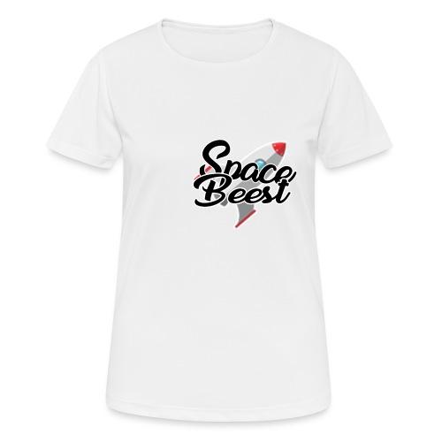Logo, SpaceBeest - Vrouwen T-shirt ademend actief