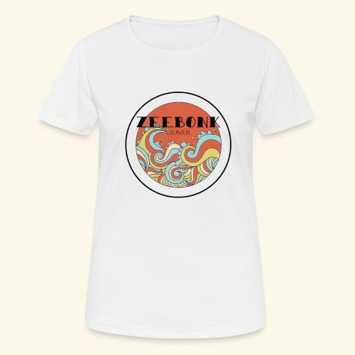 zeebonkwaves - Vrouwen T-shirt ademend actief