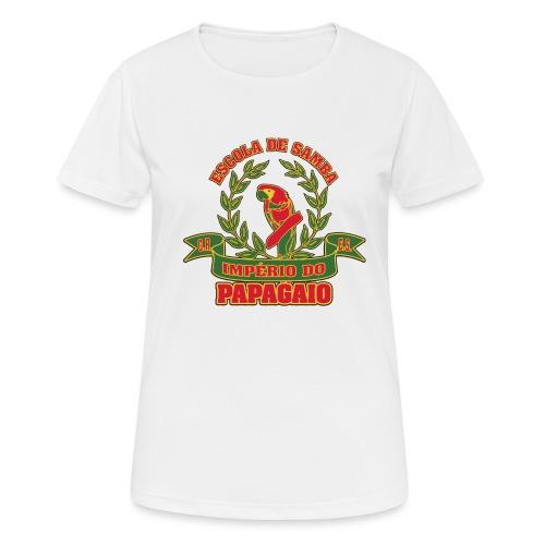 Papagaio logo - naisten tekninen t-paita