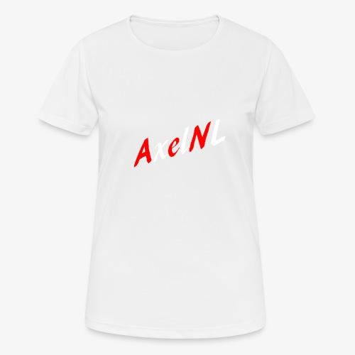 AxelNL - ROOD - Vrouwen T-shirt ademend actief