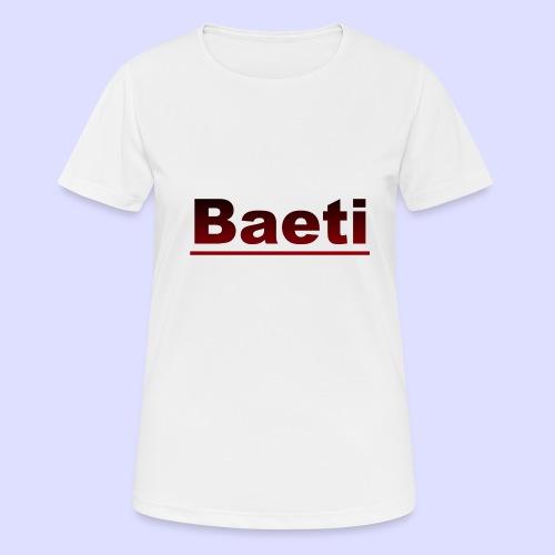 Baeti - vrouwen T-shirt ademend