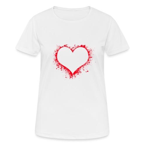 heart 2402086 - Maglietta da donna traspirante