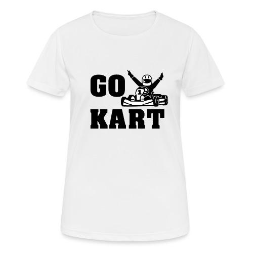 Go kart - T-shirt respirant Femme