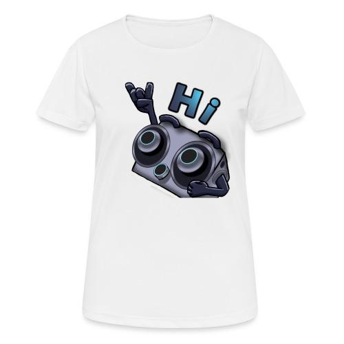 The DTS51 emote1 - Vrouwen T-shirt ademend actief