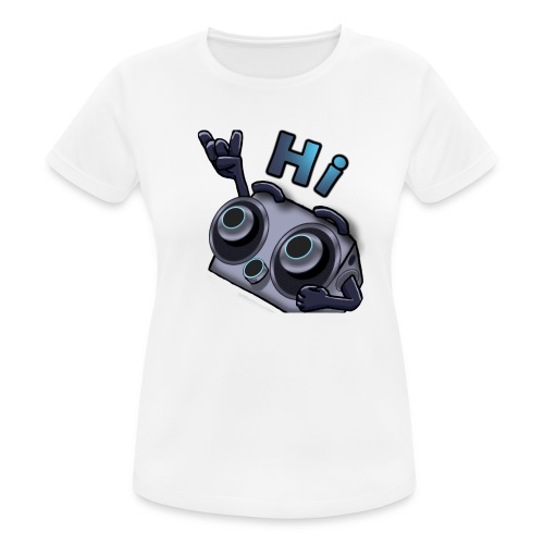 The DTS51 emote1 - vrouwen T-shirt ademend