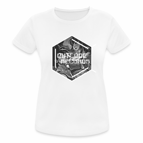 Outcode Records Art - Camiseta mujer transpirable