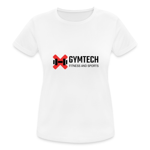 Gymtech logo - Andningsaktiv T-shirt dam