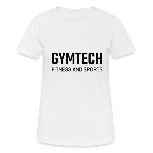 Gymtech fitness and sports - Andningsaktiv T-shirt dam