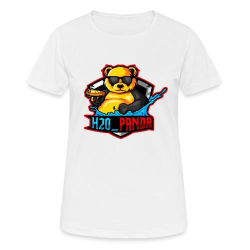 Pandas Loga - Andningsaktiv T-shirt dam