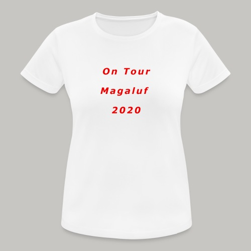 On Tour In Magaluf, 2020 - Printed T Shirt - Women's Breathable T-Shirt