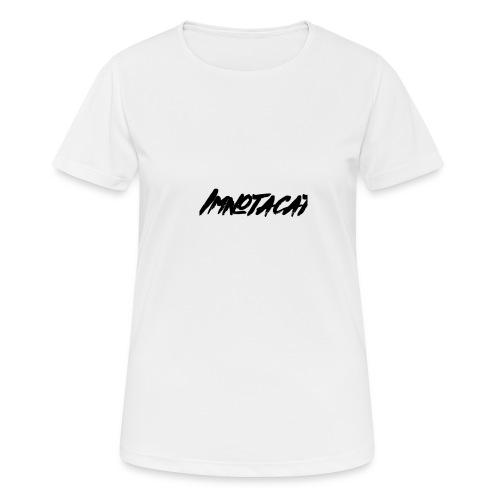 Immnotacat main design - Andningsaktiv T-shirt dam
