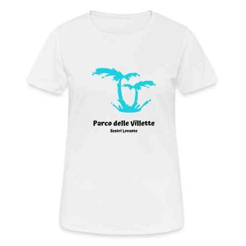 LOGO PARCO DELLE VILLETTE - Maglietta da donna traspirante
