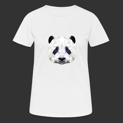 Panda Low Poly - T-shirt respirant Femme
