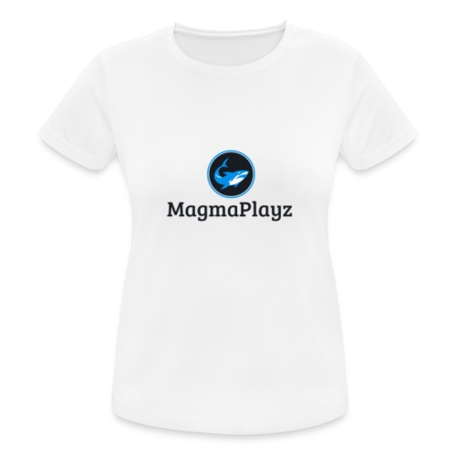 MagmaPlayz shark - Dame T-shirt svedtransporterende