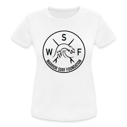 warrior surf foundation - Camiseta mujer transpirable