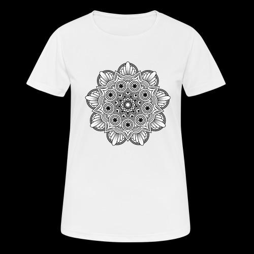 Mandala - Maglietta da donna traspirante