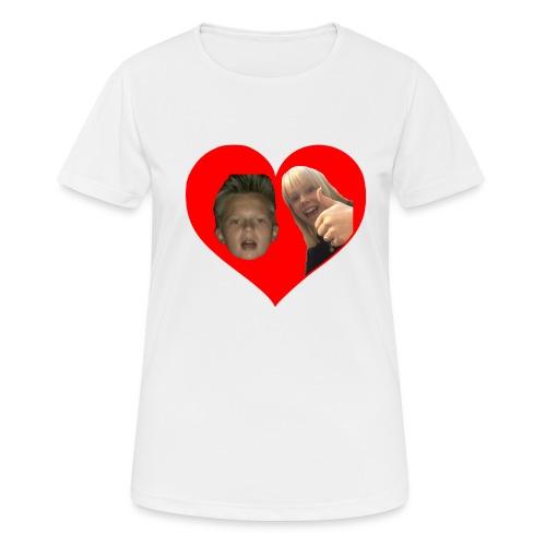 Sebber in love - Dame T-shirt svedtransporterende