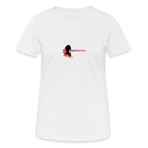 FINETHINGS - T-shirt respirant Femme