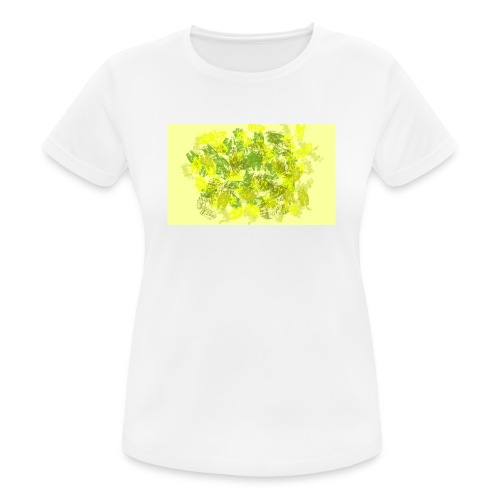 greenandyellow - Camiseta mujer transpirable