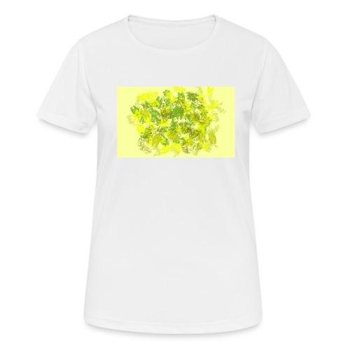 greenandyellow - Camiseta mujer transpirable