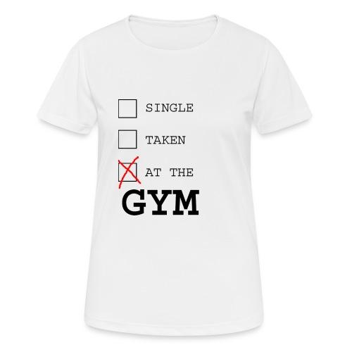 single taken gym - vrouwen T-shirt ademend