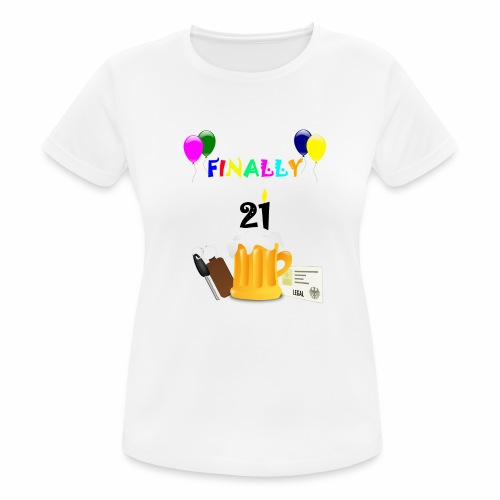 Finally 21 (2) - Women's Breathable T-Shirt