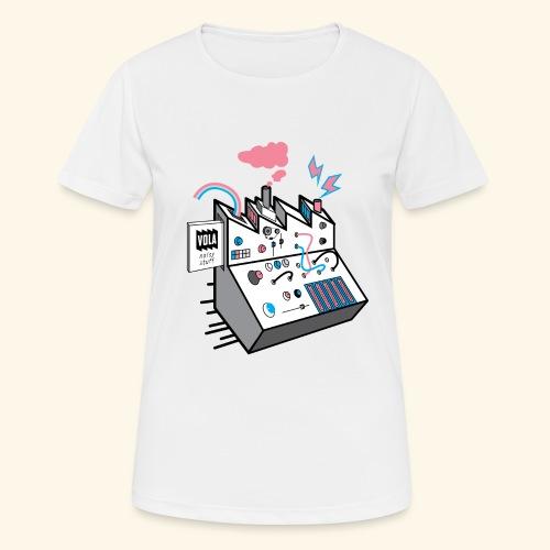 Noise Factory - naisten tekninen t-paita