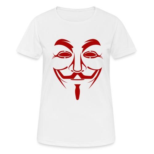 Anonym - Frauen T-Shirt atmungsaktiv