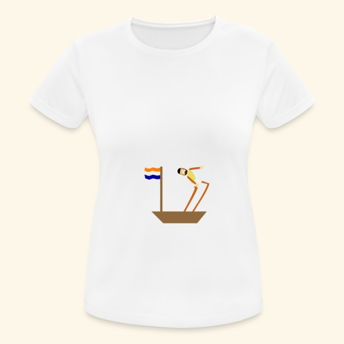 VOC-mentaliteit - vrouwen T-shirt ademend