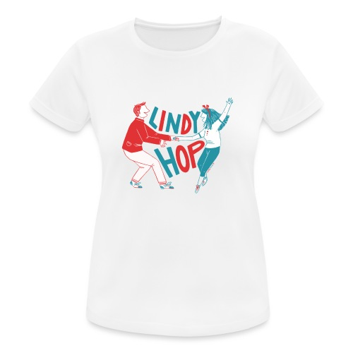 Lindy hop - Women's Breathable T-Shirt