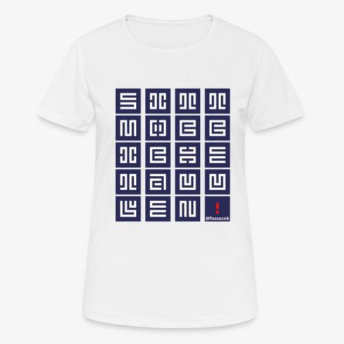 SittMocciche - Maglietta da donna traspirante