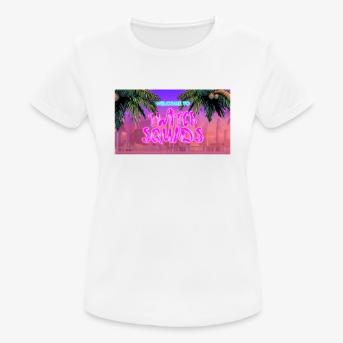 Welcome To Twitch Squads - Women's Breathable T-Shirt