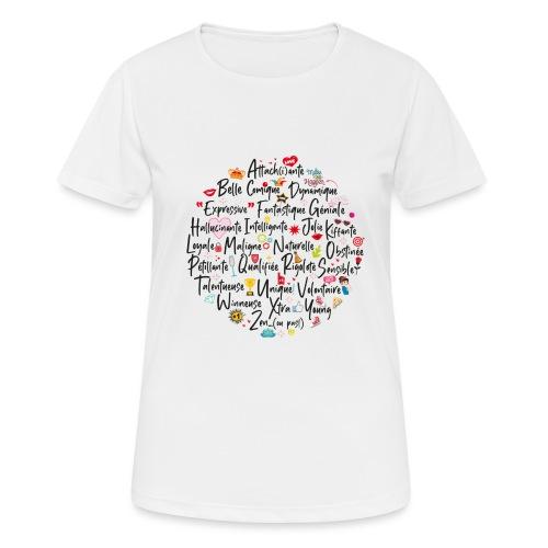 girly ABC book / abécédaire girly - T-shirt respirant Femme