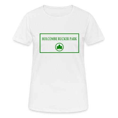 RuckerPark - Maglietta da donna traspirante