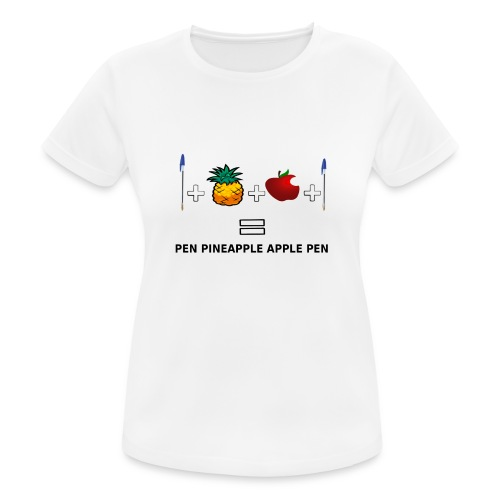 PINEAPPLE APPLE PEN - Maglietta da donna traspirante