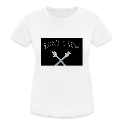 Road_Crew_Guitars_Crossed - Women's Breathable T-Shirt