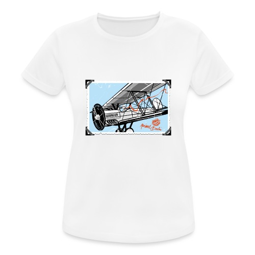 Doppeldecker - Frauen T-Shirt atmungsaktiv