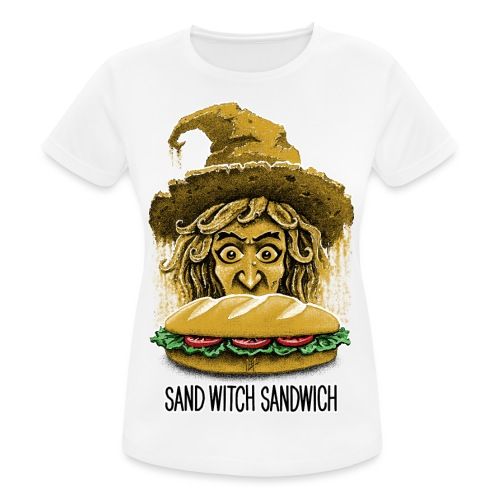 Sand Witch Sandwich V1 - Women's Breathable T-Shirt