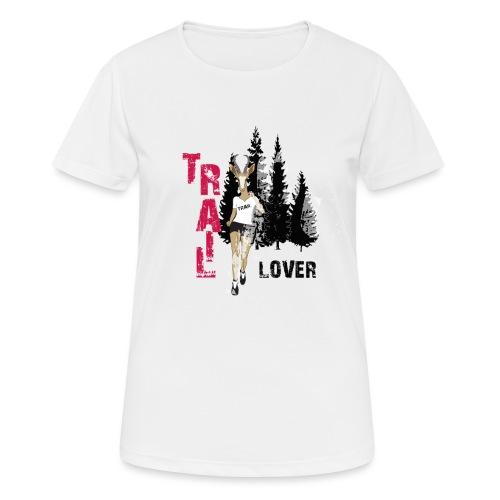 TRAIL LOVER running - T-shirt respirant Femme