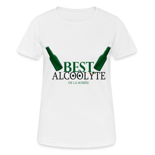 Alcoolyte ! - T-shirt respirant Femme