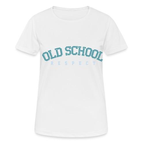 Old School Respect 02 - Vrouwen T-shirt ademend actief