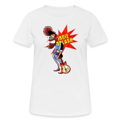 Indie Splash - Frauen T-Shirt atmungsaktiv