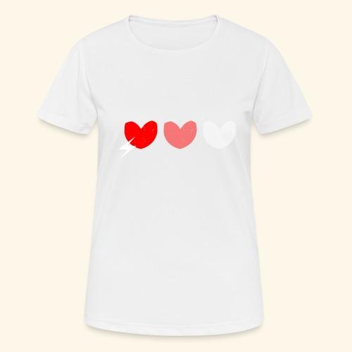 3hrts - Dame T-shirt svedtransporterende