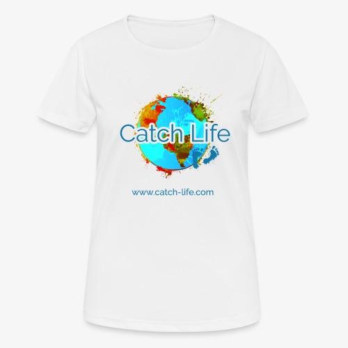 Catch Life Color - Women's Breathable T-Shirt